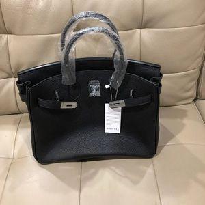 Beautiful Black Leather Bag